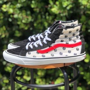 Vans x Stussy SK8 Hi 8 Ball Limited Edition Shoes